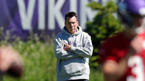 <p>               FILE - In this June 13, 2019, file photo, Minnesota Vikings assistant head coach and offensive advisor Gary Kubiak watches quarterbacks during drills at the team's NFL football training facility in Eagan, Minn. Kubiak's addition to the Minnesota Vikings coaching staff as a senior adviser has made a clear positive impact. This week, the Vikings host his long-time employer, the Denver Broncos, the team he served as head coach for in the 2015-16 seasons. (AP Photo/Andy Clayton- King, File)             </p>