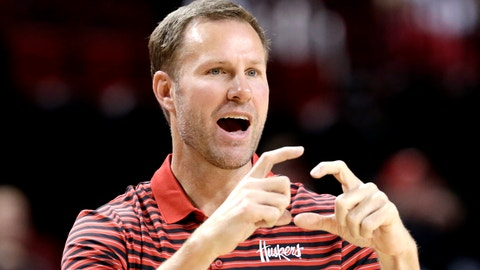 <p>               In this Wednesday, Oct. 30, 2019 photo, Nebraska coach Fred Hoiberg calls a play during an NCAA college basketball exhibition game against Doane University in Lincoln, Neb. Hoiberg knows the track record of Nebraska basketball coaches is not good. He wanted the job anyway. He takes over a program that has not won a conference championship in 70 years or ever won a game in the NCAA Tournament. He says a sold-out arena and top-notch facilities can trump the program's lack of tradition. (AP Photo/Nati Harnik)             </p>