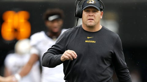 <p>               FILE - In this Oct. 19, 2019 file photo, Missouri head coach Barry Odom watches from the sideline in the first half of an NCAA college football game against Vanderbilt in Nashville, Tenn.   A person with direct knowledge of the decision says Missouri has fired Odom. The person spoke to The Associated Press on condition of anonymity Saturday, Nov. 30,  because no announcement has been made.  (AP Photo/Mark Humphrey, File)             </p>