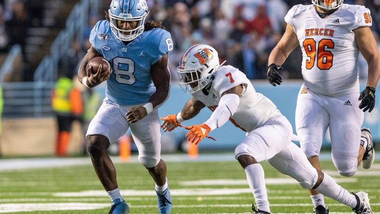 Howell, North Carolina roll past Mercer 56-7 in home finale