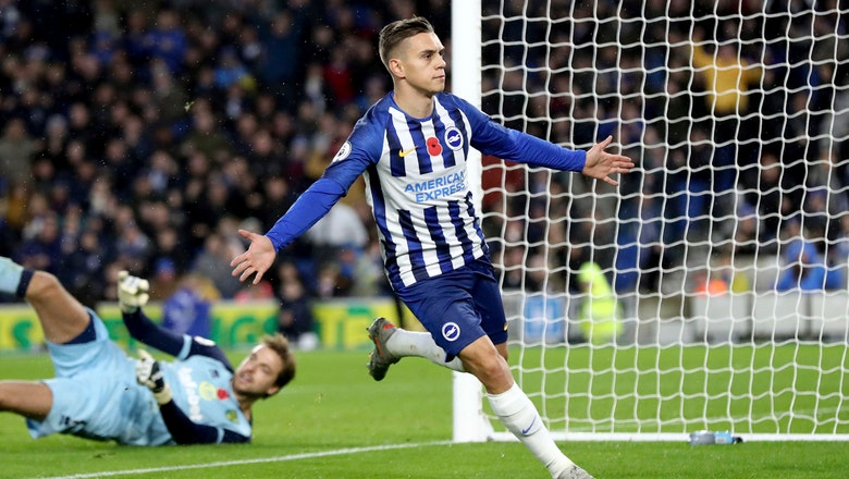 Trossard scores as Brighton beats Norwich in EPL