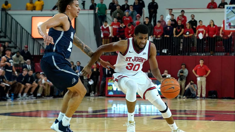 LJ Figueroa's career-high 25 points helps St.John's defeat New Hampshire 74-61