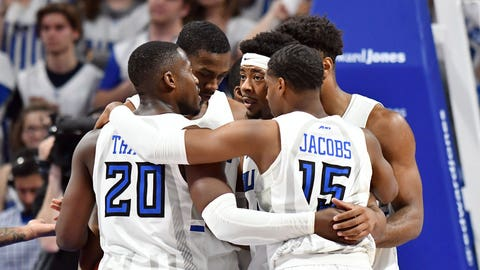 MBB, Seton Hall at SLU. Nov. 17, 2019.