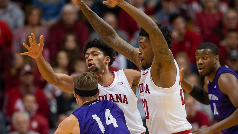 Jackson-Davis scores 20 as Indiana swarms North Alabama 91-65