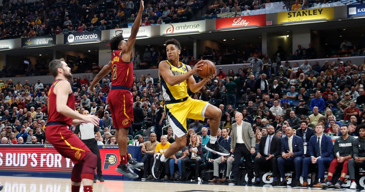 Pacers earn first home victory, 102-95 over Cavaliers thumbnail