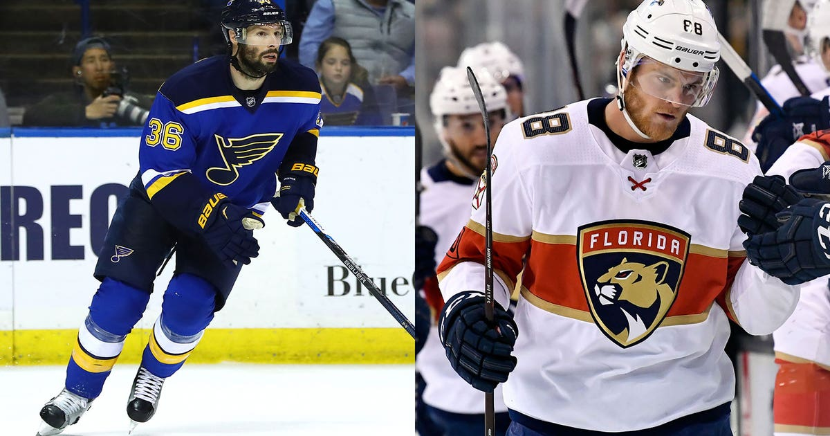 Blues sign veterans Brouwer, McGinn to professional tryouts | FOX Sports