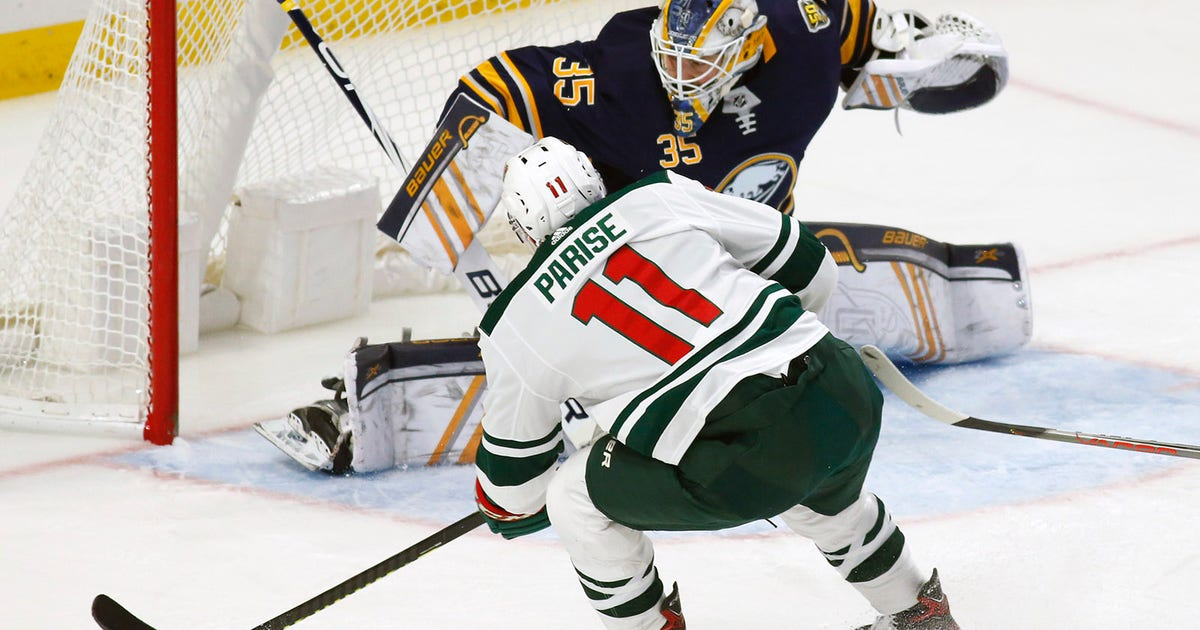 Zach Parise scores twice, powers Minnesota Wild to 4-1 win over Sabres