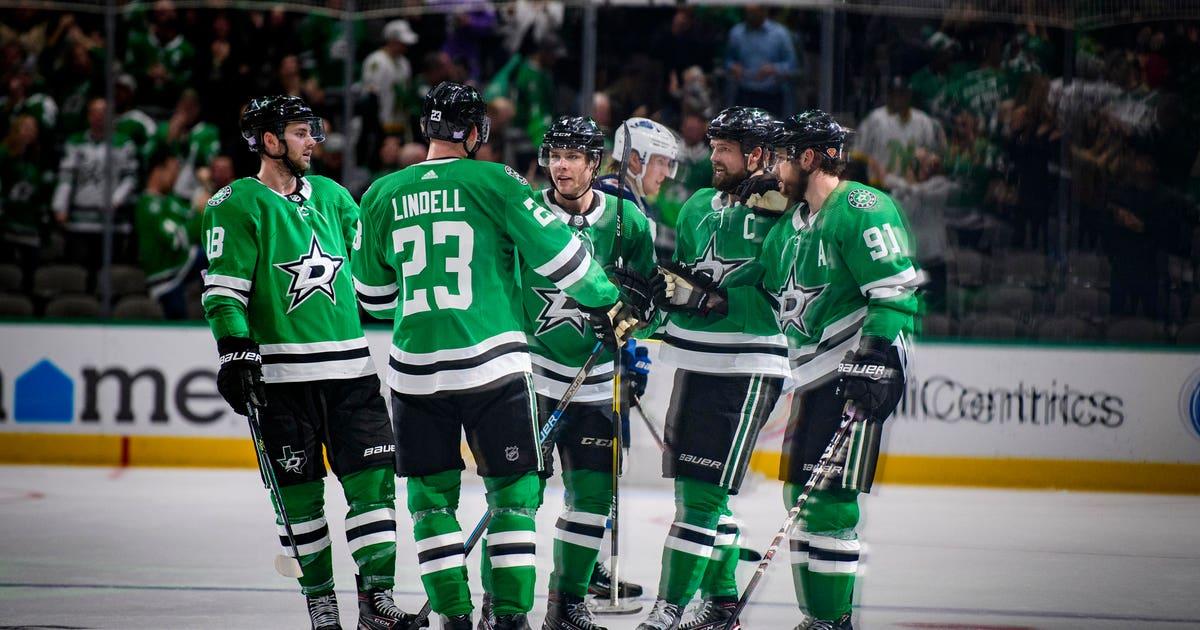 Benn scores winner, Stars take 5th straight, 5-3 over Jets | FOX Sports