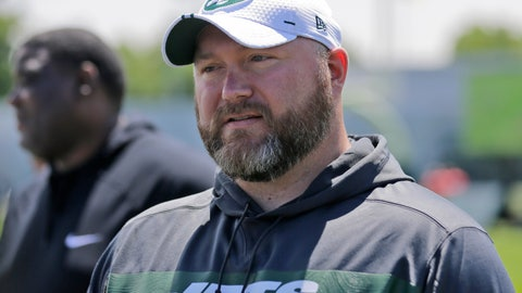 <p>               FILE - In this Tuesday, June 11, 2019 file photo, New York Jets general manager Joe Douglas greets reporters during a practice at the team's NFL football training facility in Florham Park, N.J. Joe Douglas understands the frustrations of generations of New York Jets fans. Douglas wants more from the team — more winning, more meaningful games late in the season, more communication. He knows the task at hand for him is building a squad that ends a nine-year postseason drought and, ultimately, deliver the franchise's first Super Bowl appearance since the days of Broadway Joe. (AP Photo/Seth Wenig, File)             </p>