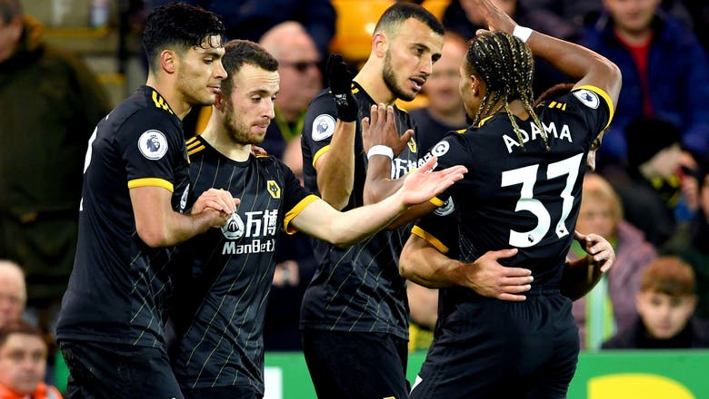 Jimenez seals 2-1 win for Wolves at Norwich in EPL