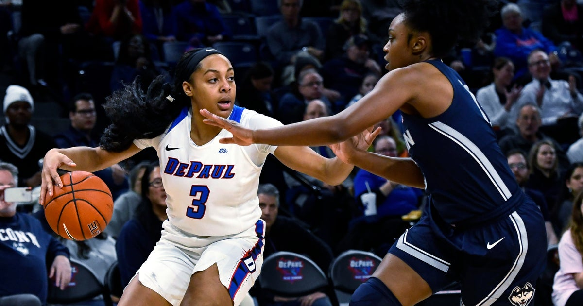 No 2. UConn powers to early lead, hangs on vs No. 16 DePaul
