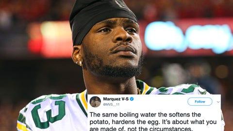 Marquez Valdes-Scantling, Packers wide receiver