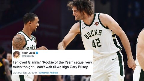 Robin Lopez, Bucks forward