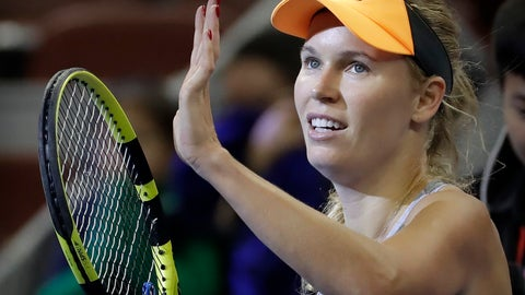 <p>               FILE - In this Friday, Oct. 4, 2019 file photo, Caroline Wozniacki of Denmark reacts after beating Daria Kasatkina of Russia in their quarterfinal match in the China Open tennis tournament in Beijing. Wozniacki has announced on Friday, Dec. 6, 2019 she will retire after the Australian Open.  (AP Photo/Mark Schiefelbein, file)             </p>
