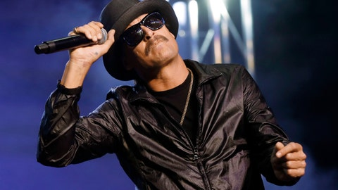 "<p>               FILE - In this Wednesday, Oct. 17, 2018 file photo, Kid Rock performs in Pontiac, Mich. The owners of the Detroit sports arena housing Kid Rock's restaurant say the musician recently filmed delivering a vulgarity-laced rant against Oprah Winfrey won't renew his licensing agreement for the eatery. An Ilitch Holdings official said Wednesday, Dec. 4, 2019, Kid Rock ""voluntarily decided"" not to renew the deal coming up in April inside Little Caesars Arena (AP Photo/Paul Sancya File)             </p>"