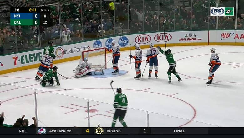 WATCH: All the Dallas Stars Goal Celebrations in the Win over New York Islanders
