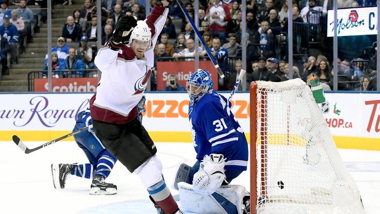 Nichushkin, Avalanche beat Maple Leafs 3-1