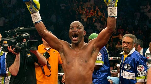<p>               FILE - In this May 21, 2011, file photo, Bernard Hopkins celebrates after defeating Jean Pascal with a unanimous decision to win a WBC light heavyweight world title fight, in Montreal. Hopkins was elected to the International Boxing Hall of Fame, Wednesday, Dec. 4, 2019. (AP Photo/The Canadian Press, Ryan Remiorz, File)             </p>