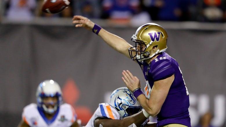 QB Jacob Eason leaves Washington early, will enter NFL draft