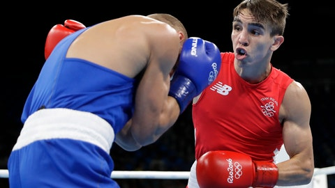 <p>               FILE - In this Aug. 16, 2016, file photo, Ireland's Michael John Conlan, right, fights Russia's Vladimir Nikitin during a men's bantamweight 56-kg quarterfinals boxing match at the 2016 Summer Olympics in Rio de Janeiro, Brazil. Conlan now sees positives in his controversial loss in the 2016 Olympics, believing it was a catalyst for change in amateur boxing. But he still wants revenge and he gets his chance when he faces Vladimir Nikitin on Saturday, Dec. 16, 2019, at Madison Square Garden. (AP Photo/Jae C. Hong, File)             </p>