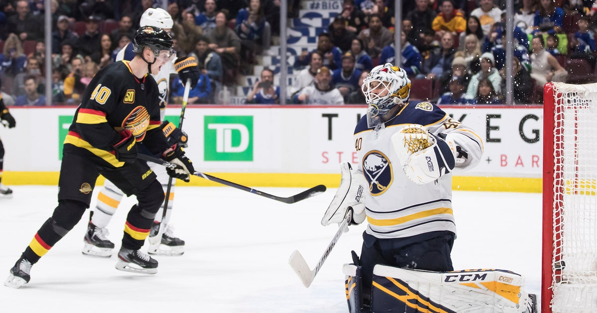 Miller scores in OT to lift Canucks over Sabres 6-5 | FOX Sports