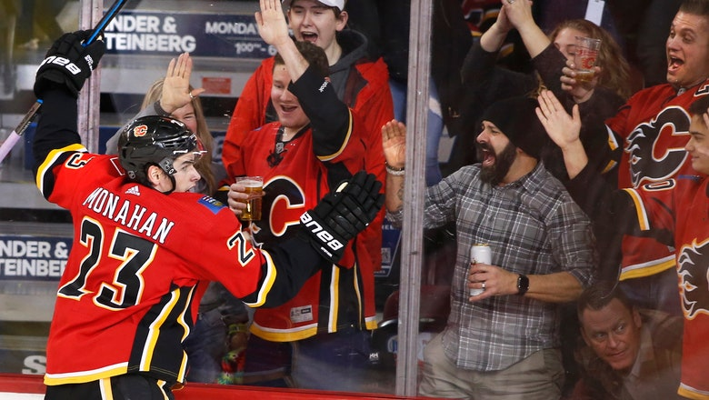 Dube helps Flames beat Kings 4-3 to stay perfect under Ward