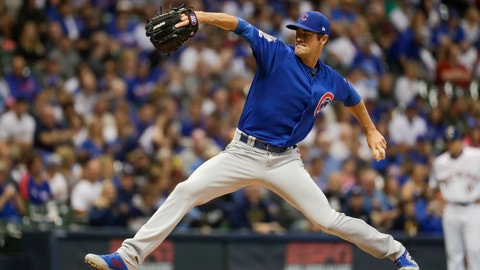<p>               FILE - In this Sept. 6, 2019, file photo, Chicago Cubs starting pitcher Cole Hamels throws during the first inning of a baseball game against the Milwaukee Brewers, in Milwaukee.  Left-hander Cole Hamels agreed to an $18 million, one-year contract with the Atlanta Braves, one of the more active teams of the offseason. (AP Photo/Morry Gash, File)             </p>