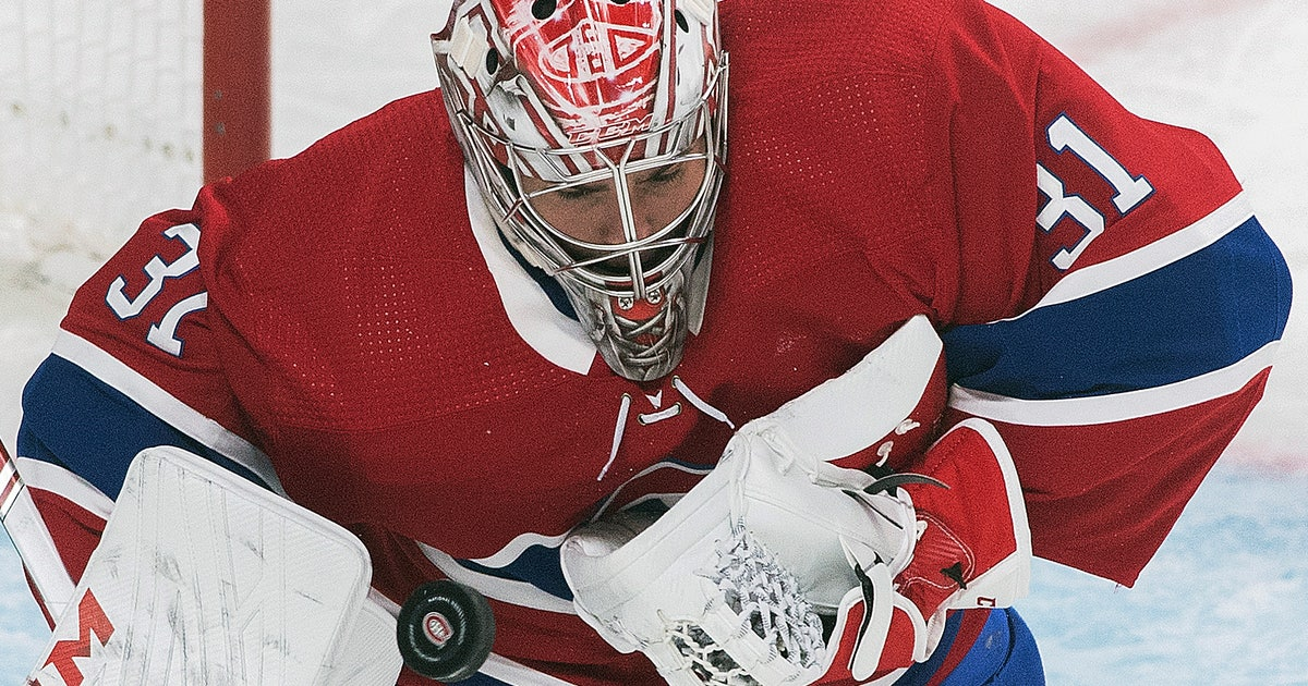 Bernier makes 42 saves, Red Wings beat Canadiens 2-1 | FOX Sports