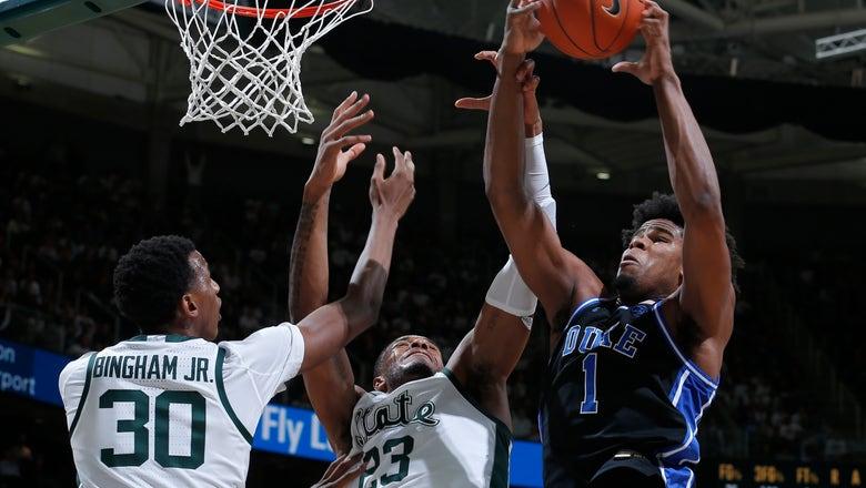 No. 10 Duke dominates No. 11 Michigan State, 87-75
