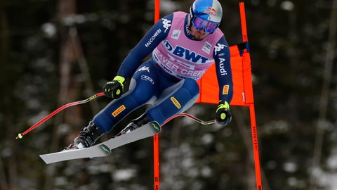 <p>               FILE - In this Dec. 7, 2019, file photo, Italy's Dominik Paris skis during a men's World Cup downhill skiing race in Beaver Creek, Colo. Paris writes his own lyrics as the lead singer of a heavy power metal band. Outside passions are a way for racers to take their minds off always thinking about racing. (AP Photo/Robert F. Bukaty, File)             </p>