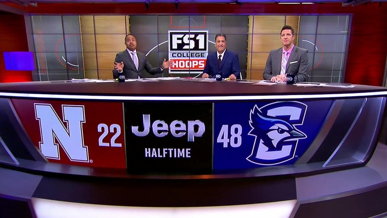 The CBK crew on FOX breaks down the first half from in-state rivals Nebraska and Creighton