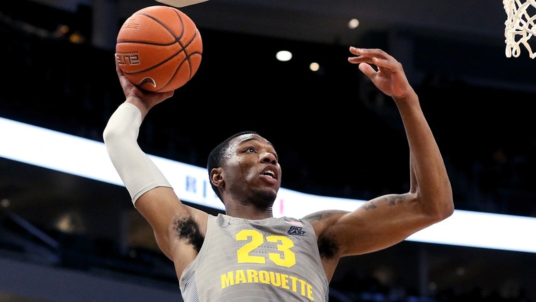 Marquette downs Jacksonville 75-56 without Markus Howard