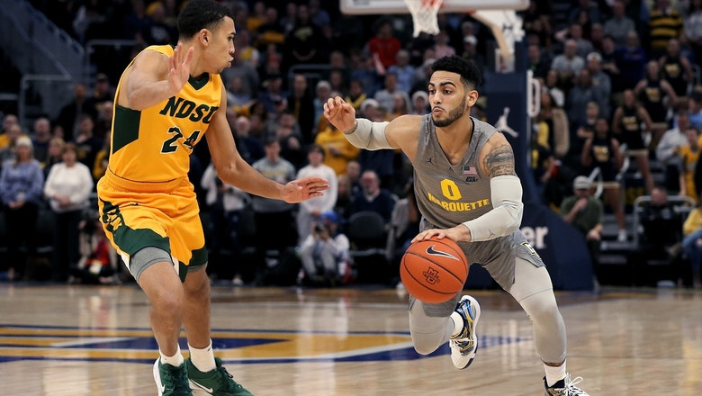 Markus Howard goes off again for 32, leads Marquette past North Dakota State, 82-68