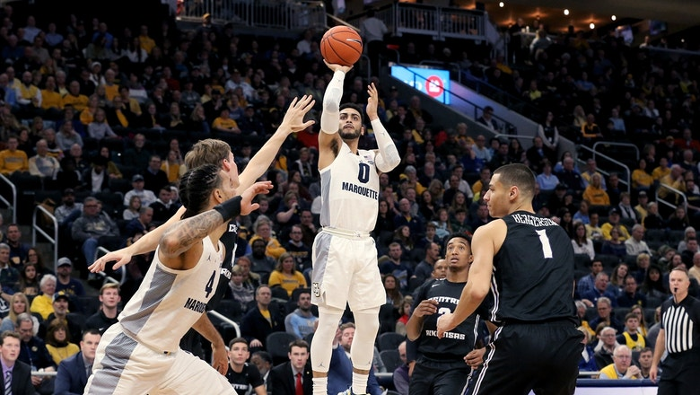 Markus Howard sets Marquette's all-time record for career 3-pointers in win over Central Arkansas
