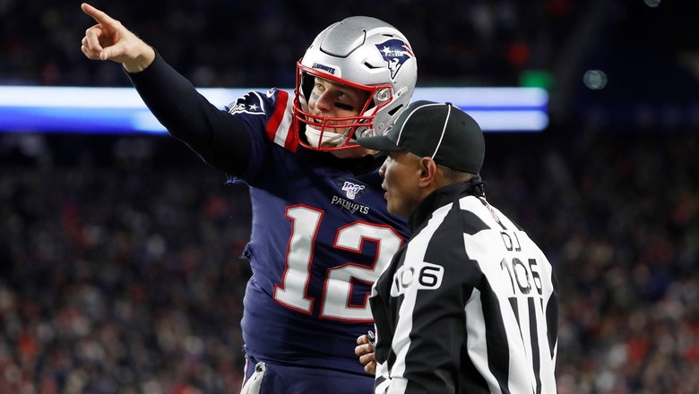 Shannon Sharpe: Tom Brady is to blame for Patriots' loss, not bad officiating