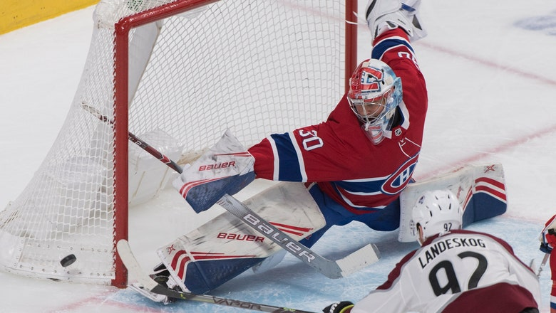 Landeskog scores in return, Avalanche beat Canadiens 3-2