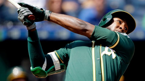 <p>               FILE - In this Aug. 29, 2019, file photo, Oakland Athletics' Jurickson Profar watches his two-run home run during the fourth inning of a baseball game against the Kansas City Royals in Kansas City, Mo. Switch-hitting second baseman Profar has been acquired by the San Diego Padres from the Athletics in exchange for catcher Austin Allen and a player to be named. The trade was announced Monday, Dec. 2, 2019, with the baseball winter meetings in San Diego less than a week away. (AP Photo/Charlie Riedel, File)             </p>