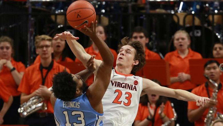No. 5 Virginia rebounds from loss to beat No. 7 N. Carolina
