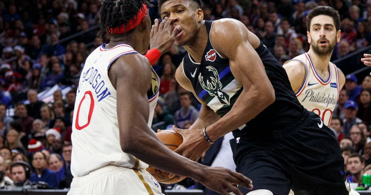 Giannis Antetokounmpo ruled out because of back soreness