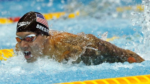 <p>               File-This Aug. 11, 2018, file photo shows U.S. swimmer Caeleb Dressel competing on his way to winning the men's 100m butterfly final during the Pan Pacific swimming championships in Tokyo.  In the post-Michael Phelps world, Dressel fits snugly into the successor's slot. Coming off two dynamic performances at the world swimming championships, Dressel figures to be one of the biggest stars at the 2020 Tokyo Games.  Yet he is reticent to step into the spotlight. (AP Photo/Koji Sasahara, File)             </p>
