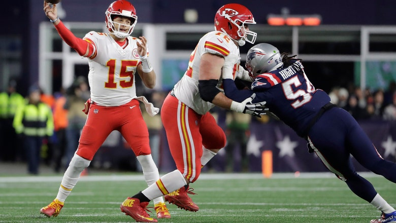 KC survives errors, takes AFC West with 23-13 win over Pats