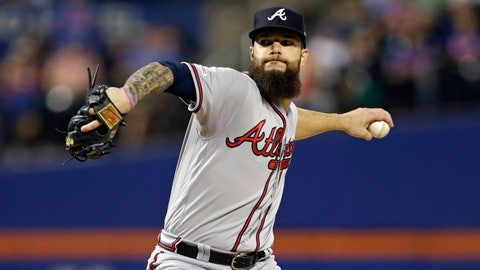 <p>               FILE - In this Friday, Sept. 27, 2019 file photo, Atlanta Braves pitcher Dallas Keuchel delivers during the first inning of a baseball game against the New York Mets in New York. The Chicago White Sox and left-hander Dallas Keuchel have agreed to a $55 million, three-year deal, a person familiar with the negotiations told The Associated Press. The person spoke on condition of anonymity Saturday night, Dec. 21, 2019 because the agreement had not been announced. (AP Photo/Adam Hunger, File)             </p>