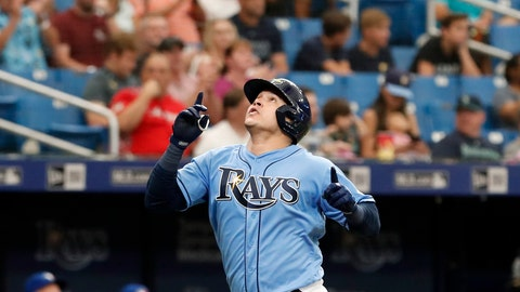 <p>               FILE - In this Sept. 8, 2019, file photo, Tampa Bay Rays' Avisail Garcia reacts after hitting a home run against the Toronto Blue Jays during the seventh inning of a baseball game, in St. Petersburg, Fla. García's $20 million, two-year contract with the Milwaukee Brewers was finalized Tuesday, Dec. 17, 2019, a deal that includes a 2022 club option and could be worth $30 million over three years.(AP Photo/Scott Audette, File)             </p>