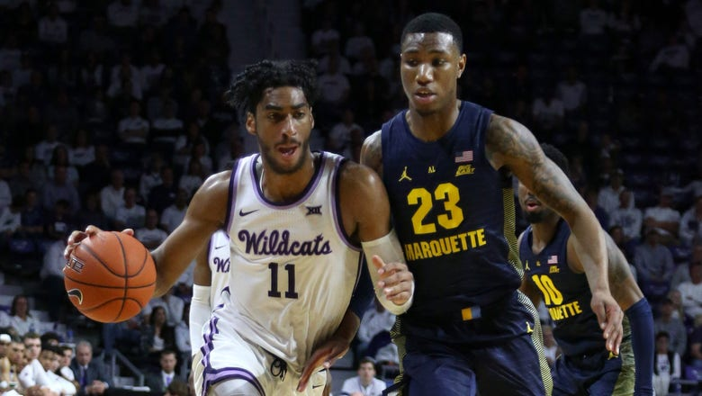 Kansas State suffers first home loss, 73-65 to Marquette