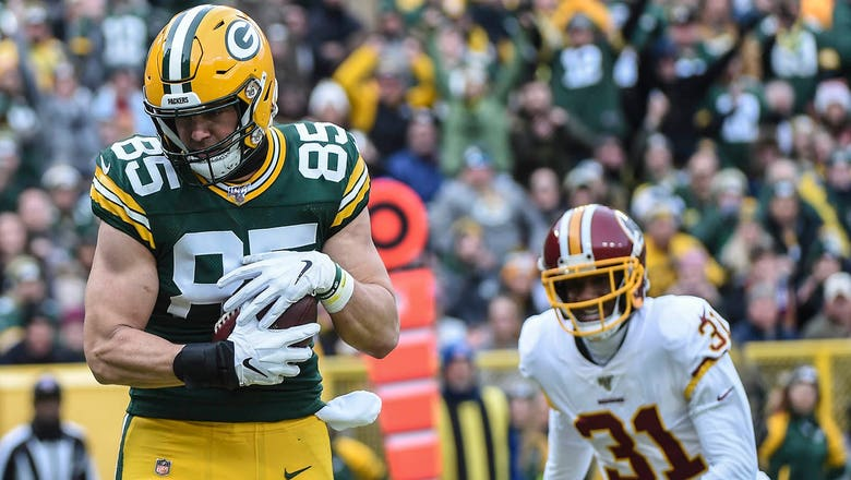 Packers Snap Counts: Tight ends showcased vs. Redskins