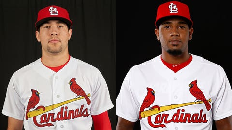 Cardinals prospects Dylan Carlson and Angel Rondon