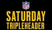 NFL Saturday Tripleheader