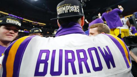 Cincinnati Bengals — Joe Burrow, QB, LSU (Previous pick: 1)