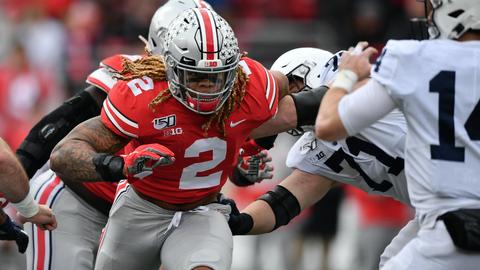Washington Redskins — Chase Young, DE, Ohio State (2)