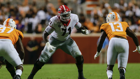 Cleveland Browns — Andrew Thomas, OT, Georgia (8)